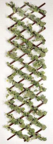 Artif-deco - Vigne artificielle en treille extensible barriere mur vegetal 666 feuilles