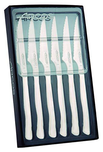 Arcos Serie Cuchillos de Mesa, Juego 6 uds Cuchillo...