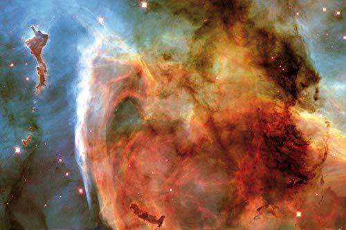1art1 Der Weltraum - Schlüssellochnebel Im Sternbild Carina Poster 91 x 61 cm