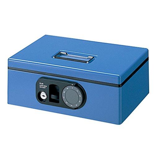 プラス 金庫 手提金庫 B5 F型 Sサイズ ブルー 12-843