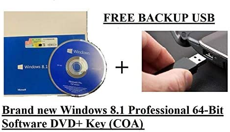 Windows 8.1 Professional Full Version 64Bit Max 87% OFF P DVD KEY ORIGINAL + Direct stock discount