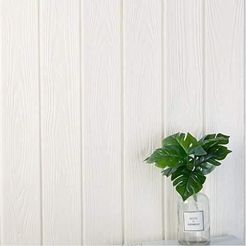 5 piezas 77 * 70cm 3D Pegatinas de pared (wood)