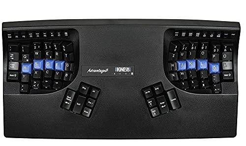 KINESIS Advantage 2 Tastatur DE Layout QWERTZ