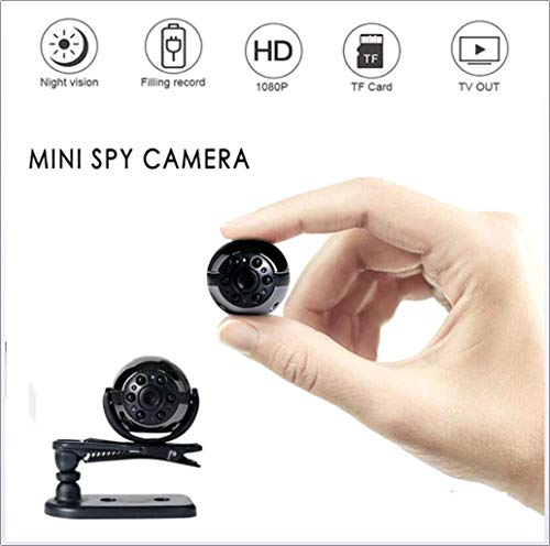 Nachtzicht Mini 360 ° draaibare camera 1080p Full HD small size camera voor buiten of kantoor of thuis