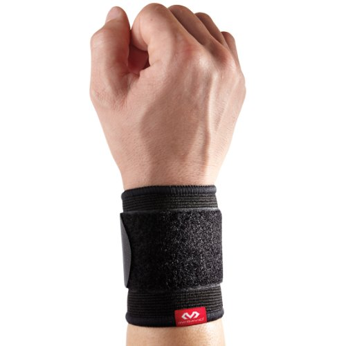 McDavid 513 Elastic Wrist Support, Small/Medium, Black