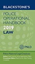 Blackstone's Operational Handbook 2019: Law