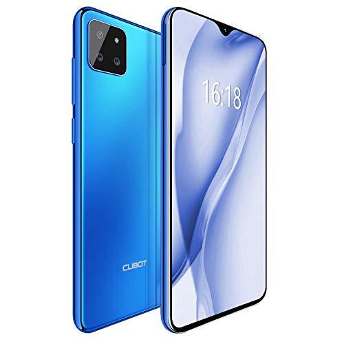 CUBOT X20 Pro Smartphone 6.3 FHD Pollici 2340 * 1080 Android 9 Pie 6GB+ 128GB Tripla Fotocamere Batteria 4000mAh Octa Core Face ID Dual SIM Cellulare Blu