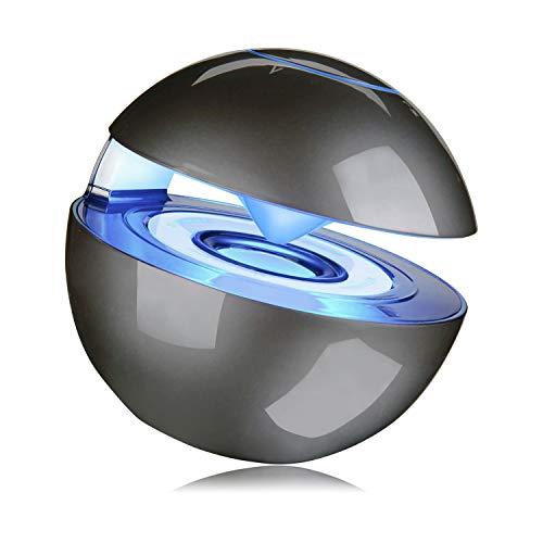 Mejor Altavoz Bluetooth Altavoz inalámbrico portátil, pequeño con Sonido HD excelente y bajo Mejorado, Ranura para Tarjeta TF Compatible con teléfono Inteligente, Tableta iPad PC (Gris)
