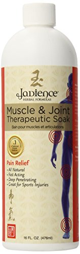 Jadience Muscle & Joint Pain Relief Herbal Bath – 16oz - Sore Muscles, Swollen Joints, Pulled Muscle & Back Pain Management MADE IN THE USA - 100% All-Natural Ingredients