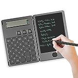 NEWYES Standard Taschenrechner und Schreibtafel 2 in 1 Mutifunktionen