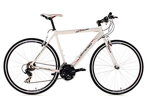KS Cycling Fitnessbike 28'' Lightspeed weiß Alu-Rahmen RH54cm