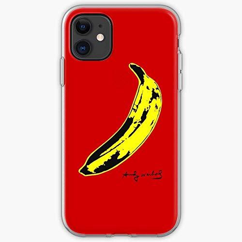 NDSXTLCA Compatibile con iPhone XR Custodie Haring Andy Warhol Keith Basquiat Pure Clear Custodie per Telefoni AntiGraffio Protezione Antiurto Cover