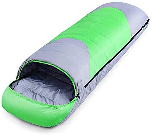 HYISHION - Funda de transporte para adulto con costuras grandes, 100% impermeable, ideal para senderismo de invierno, camping, tamaño: 220 x 80 cm, color: naranja (color: naranja, tamaño: 220 x 80 cm)