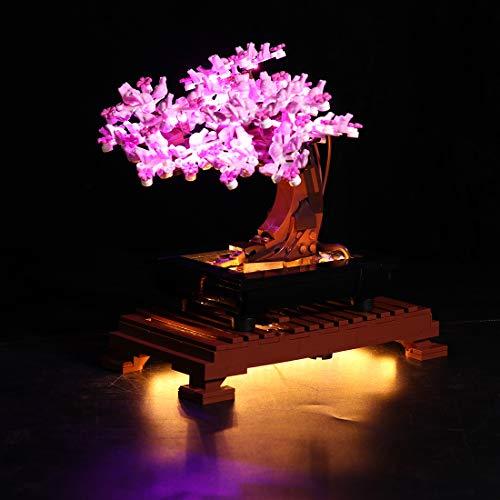 Seasy Juego de iluminación para árbol de bonsái Lego Expert Bonsái, juego de...