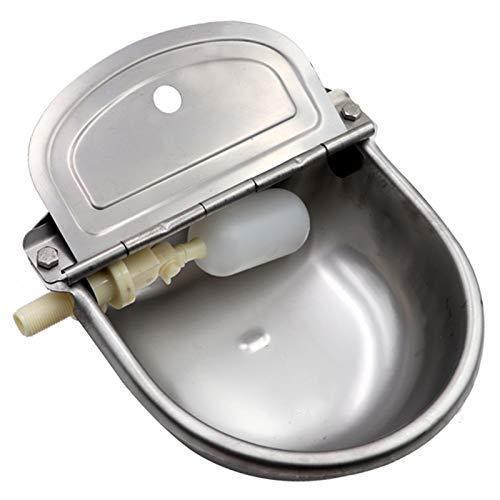 Automatic Dog Feeder Trough Bowl Dispenser Waterer...
