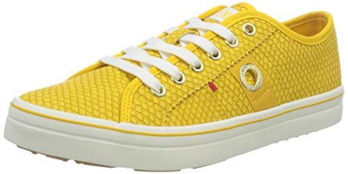 s.Oliver 5-5-23640-26 650, Zapatillas Mujer, Serpiente Amarilla, 39 EU