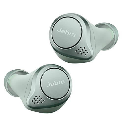 Jabra Elite Active 75t Auricolari, Cuffie per lo Sport True Wireless con Cancellazione Attiva del Rumore e Batteria a Lunga Durata per Chiamate e Musica, Menta