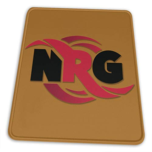 Nrg Logo Pullover Hoodie Electronic Sports Office Gaming Learning Rubber Non-Slip Mouse PadMouse Pad Mouse Mat for Computer Desk Laptop Office Non-Slip Rubber