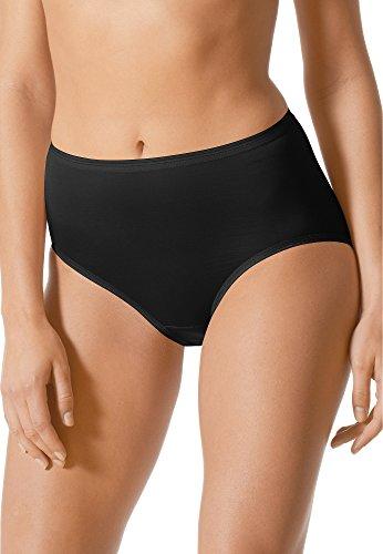Mey Basics Serie Lights Damen Taillenslips/ - Pants Schwarz 46