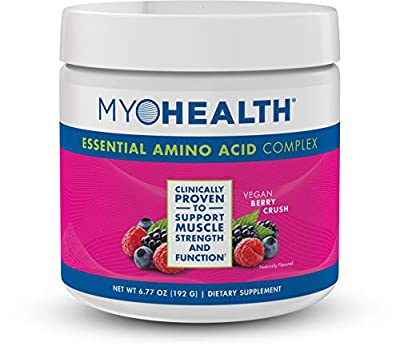 MyoHealth Essential Amino Acid Complex Berry Crush Powder (30 Servings)