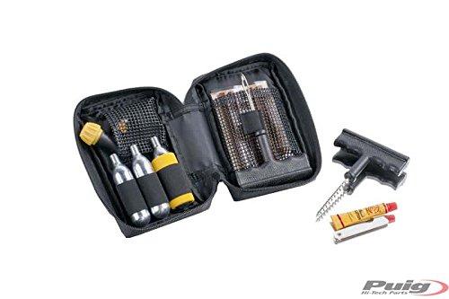 Puig 5982N Kit Reparación Pinchazos Universal, Negro