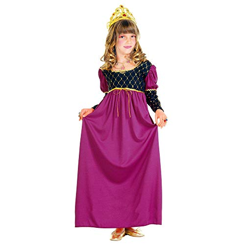 WIDMANN 38536 - Costume da Regina, in Taglia 5/7 Anni