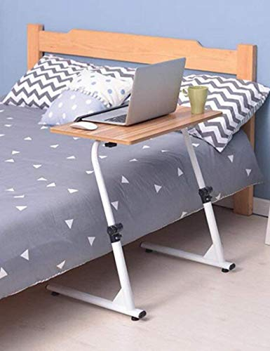 Mesa de madera – paneles a base de paneles plegables simples mesita de noche escritorio portátil la cama está amueblada con un sofá de escritorio escritorio escritorio de aprendizaje lateral
