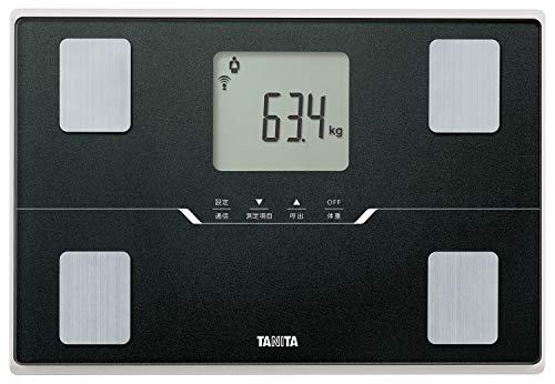 タニタ 体重 体組成計 ブラック BC-768 BK スマホでデータ管理 立てかけ収納OK