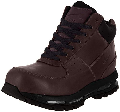 Nike Air Max Goadome Men's Lifestyle Leather Boots Deep Burgundy/Black, 10