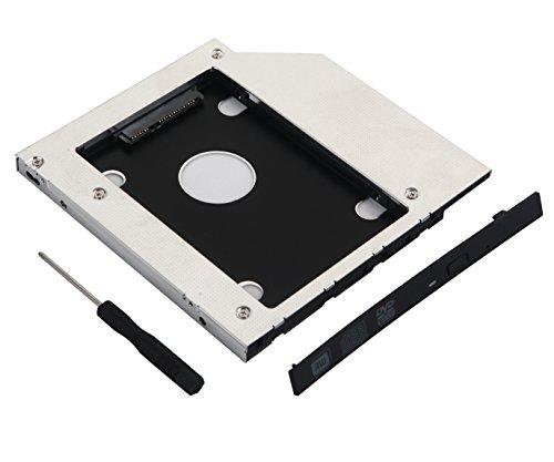 Deyoung HD-SSD-Festplatten-Adapter für HP ZBook 15 17 Workstation Swap SU-208CB DVD ODD