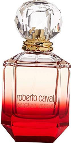 Roberto Cavalli Paradiso Assoluto 75 ml Eau de Parfum Spray para ella con bolsa de regalo