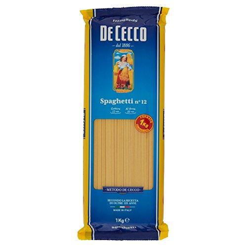De Cecco Spaghetti - 2 pezzi da 1 kg [2 kg]