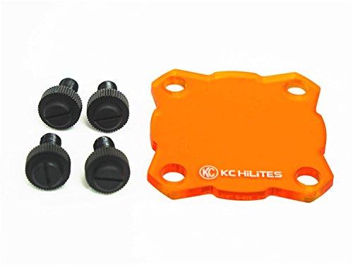 KC HiLiTES 72082 Flex Single Amber Shield - Single