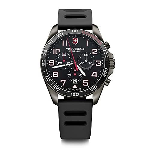 Victorinox Hombre FieldForce Sport Chronograph - Reloj de Acero Inoxidable de Cuarzo analógico de fabricación Suiza 241889