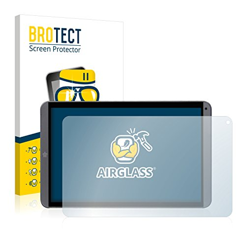 brotect Pellicola Protettiva Vetro Compatibile con Mediacom Smartpad MX 10 M-SP10MXHA Schermo Protezione, Estrema Durezza 9H, Anti-Impronte, AirGlass