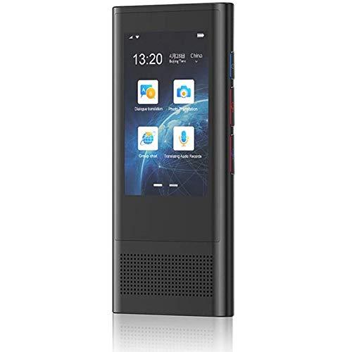 LIZONGFQ 2.8 pulgadas Sn Smart Voice Translator Offline 117 Lenguaje Traducción simultánea Voz Negocios Viaje Traductor