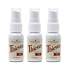 NATURAL CLEANING SOLUTION: A natural alternative to cleaners with dangerous synthetics and harsh chemicals, the Thieves Spray can be safely used around your children, pets, and family. VERSATILE & PORTABLE: This non-toxic formula comes in small spray...