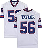 Lawrence Taylor New York Giants Autographed White Pro-Line Jersey - Autographed NFL Jerseys