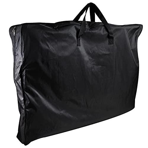 Aufbewahrungstasche für 2 Stühle - 110 x 82 x16 cm - Transport Tasche - Tragetasche für Stuhl - schwarz - 600D Polyester - wasserdicht