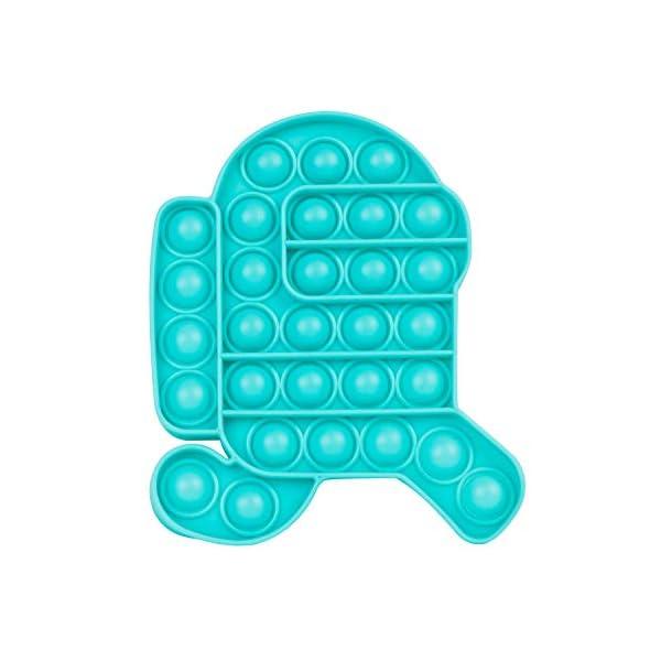 Push Pops Bubble Fidget Sensory Toys Funny Relief Stress Desktop Game Soft Squeeze...