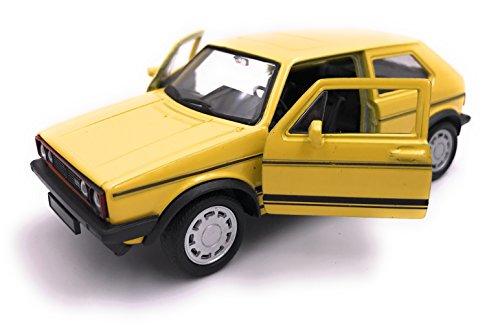 H-Customs Golf l 1 GTI Modellauto Auto Lizenzprodukt 1:34-1:39 Gelb