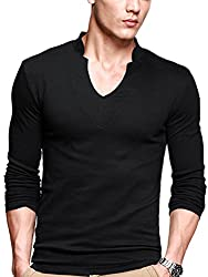 Top 10 Best Selling Men's V-Neck T-Shirts Reviews 2020