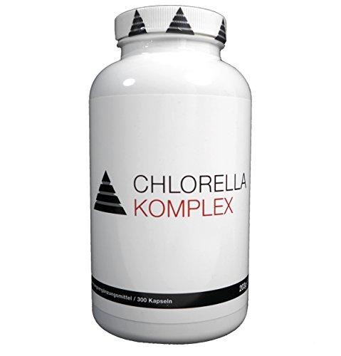 YPSI ChlorellaKomplex/Chlorella Vulgaris und Chlorella Pyrenoidosa Komplex/Deutsche Qualität/300 Kapseln
