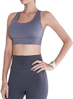 حمالات صدر رياضية للنساء للجري ، مضادة للصدمات تجمع صدرية رياضية مضادة للتطور صدرية نمط ملابس لياقة لياقة بدنية ملابس داخلية