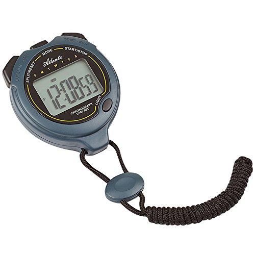 ATLANTA - Stoppuhr - digital Uhr - Timer mit Weckfunktion - Zwischenzeit