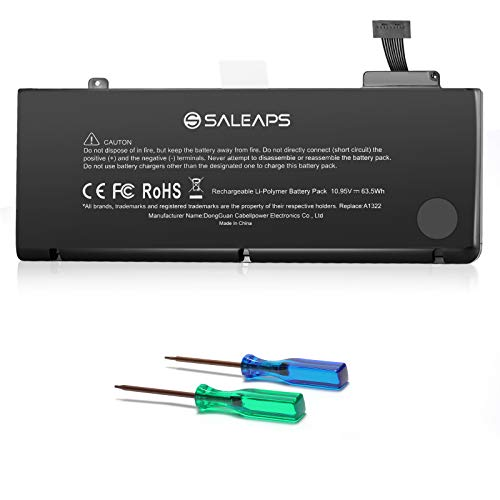 Saleaps A1322 A1278 Laptop Battery - for MacBook Pro 13 inch Mid 2009 2010 2012 Early & Late 2011,Fit MB990LL/A MC375LL/A MD101LL/A MD313LL/A