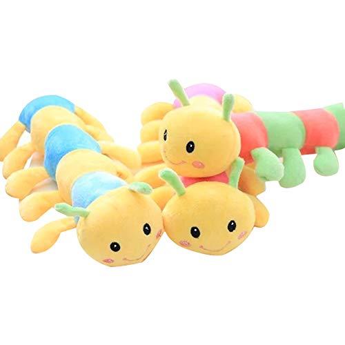Newin Star Mini Plüsch Spielzeug, Niedliches Plüsch Stofftier Spielzeug für Kinder Schlafzimmer und Auto Plüsch Puppe Anhänger, Raupe, Zufällige Farbe
