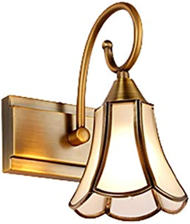 LED American Mirror Scheinwerfer EuropIschen Retro Badezimmer Schlafzimmer Spiegel Frontwandleuchte Dressing Spiegel Licht