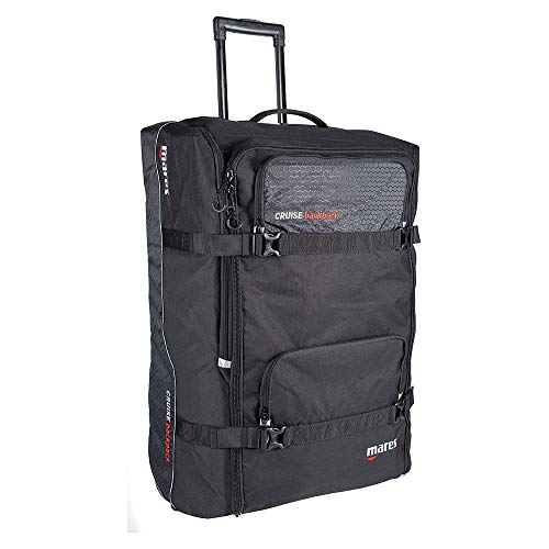 Mares Cruise Back Pack Trolley Bag Adulte Unisexe, Noir, Une Taille