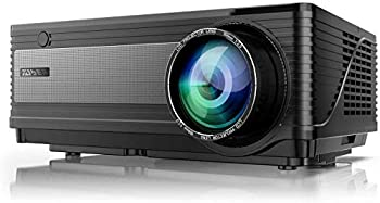 YABER Y21 Native 1920 x 1080P Projector 7800L Upgrad Full HD Video Projector Support 4k & Zoom Home & Outdoor Projector Compatible w/TV Stick,HDMI,VGA,USB iPhone,Android,Laptop,PS4,Xbox